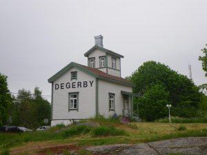 Zweifellos, wir sind in Degerby